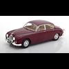 Jaguar Mk2 1960 dark red WhiteBox 1:24 Scale Diecast model