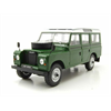 Land Rover Series III 109 green, white 1980 WhiteBox 1:24 Scale Diecast model