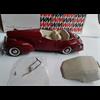 Packard Darrin Super 8 Victoria 1940 red Western Models 1:43 Diecast