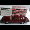 Aston Martin Lagonda 1983 deep red Western Models 1:43 Diecast