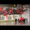 Ferrari M. Schumacher Gran Premio di Spagna 1996 Poster 19.75 x 27.5 inches