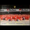 Ferrari Team 2002 Poster 19 x 27 inches