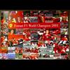 Ferrari F1 World Champion 2001 Poster 19 x 27 inches
