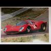 Ferrari 330 P4 #24  Car Poster  24 x 17.5 inches