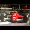 Ferrari F1/87 G. Berger #28 official Ferrari 1989 Poster 27 x 38.5 inches