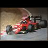 Ferrari F1 640 G. Berger official Ferrari 1989 Poster 27 x 38.5 inches