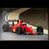 Ferrari F1 641.2 A. Prost official Ferrari 1990 Poster 27 x 38.5 inches