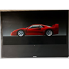 Ferrari F40 Official Poster N.622-90 Car Poster  27 x 38.5 inches