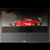 Ferrari 412 T1 F1#27 car official Ferrari 1995 Poster 27 x 38.5 inches