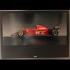 Ferrari 412 T2 F1 car official Ferrari 1995 Poster 27 x 38.5 inches