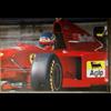 Ferrari F1 412 T2 J. Alesi official Ferrari 1995 Poster 27 x 38.5 inches