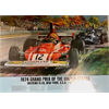 1974 Grand Prix of the United States POSTER -  commemorative  -  20 x 28 inches