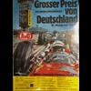 1975 GERMAN GRAND PRIX EVENT POSTER -  Original  -  23.5 x 33 inches