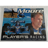 Greg Moore profile card, signed