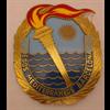 Il Juegos Mediterraneos Barcelona 1955 badge