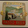 Passo Resia badge