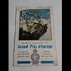 1950 Grand Prix d'Europe Program