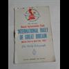 1952 International Rally of Great Britain Program