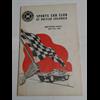 1957 Sports Car Club BC July 21 Program