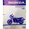 1981-82 Honda CBX 1000 Factory Shop-Service Manual