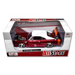 DODGE CHARGER R/T ALLSTARS 1969 - 1:24 scale Diecast model by Maisto