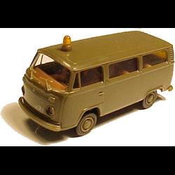 Volkswagen T2 Bus, Follow-Me (Volkswagen) - Brekina 1:87 Plastic Diecast