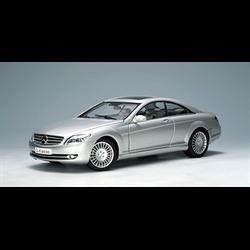 Mercedes Benz CL Coupe 2006 silver AUTOart 1:18 Diecast