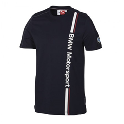 BMW Motorsport T shirt - Navy - Medium size
