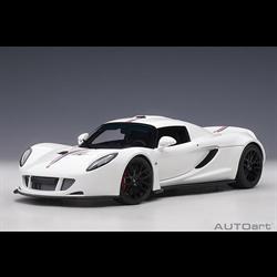 HENNESSEY Venom GT Spyder white AUTOart 1:18 Diecast