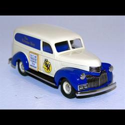 Chevrolet Panel Delivery Fresno Bee 1941 cream, Durham DC-12J 1:43 #125 of 200