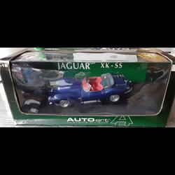 Jaguar XKSS 1956 blue - AUTOart 1:18 Diecast
