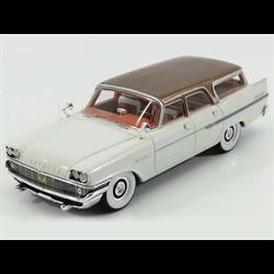 Chrysler New Yorker Town & Country Wagon 1958 white, brown 1:43 Resin KESS