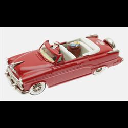 Dodge Royal 500 1954 Red Santa & tree - Brooklin 1:43 Diecast