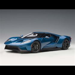 Ford GT 2017 liquid blue AUTOart 1:18 model