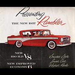 1957 AMC Rambler Sales Catalog-Brochure