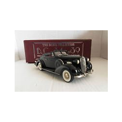 BUICK Special Conv.Coupe Model 46-C 1936 -  black - Brooklin 1:43 Diecast