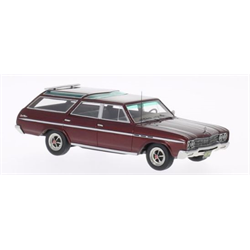 Buick Sport Wagon met.-dark-red 1965 1:43 Resin Diecast model by BoS