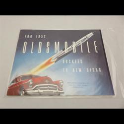 1952 OLDSMOBILE Full-line Sales Catalog-Brochure