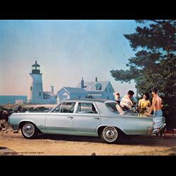 1964 OLDSMOBILE F-85 Sales Catalog-Brochure