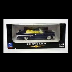 Chrysler 300E convertible 1959 blue NewRay 1:43 Diecast