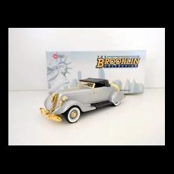 Studebaker Commander Roadster 1935 silver - Brooklin 1:43 Diecast