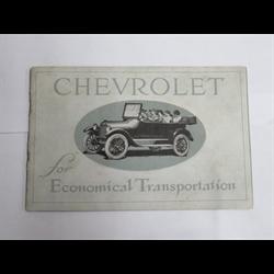 1919-22 Chevrolet Sales Catalog-Brochure