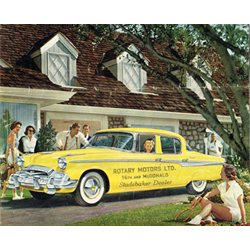 1955 STUDEBAKER Full-line Sales Catalog-Brochure