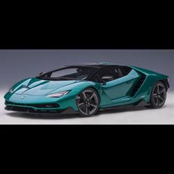 Lamborghini Centenario Metallic Green AUTOart 1:18 Diecast