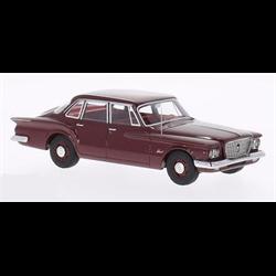 Plymouth Valiant Sedan, metallic-dark red 1960 1:43 Resin Diecast model by BoS