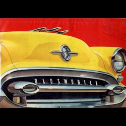1955 OLDSMOBILE Full-line Sales Catalog-Brochure