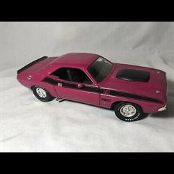 Dodge Challenger T/A 1970 340 moulin rouge pink ERTL 1:18 Diecast no box