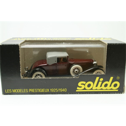 Cord L29 red/blk - Solido 1:43 Diecast