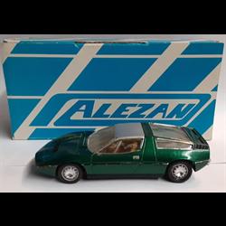 Maserati Bora 1975 green 1:43 Alezan resin model