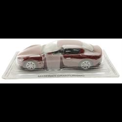 Maserati Granturismo maroon  - 1:43 Scale Diecast Model Replica by Altas